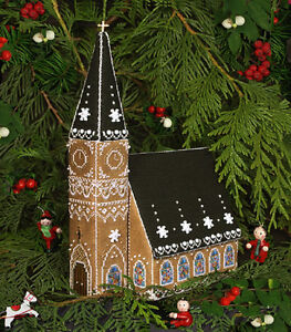 Gingerbread Church - Part 3 of Gingerbread Village - The Victoria Sampler New