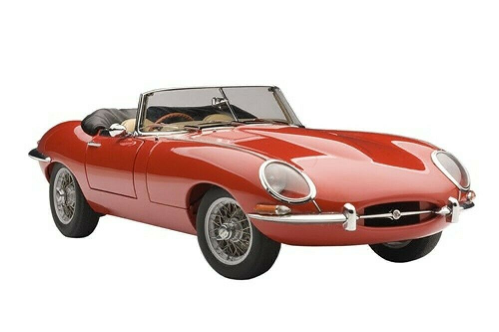 NEW AUTOart 73601 Jaguar E Type Roadster Series I 3.8 rosso from JAPAN
