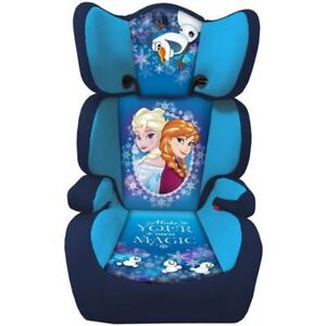 Image Is Loading Frozen Kids Girls Safety High Back Booster Car