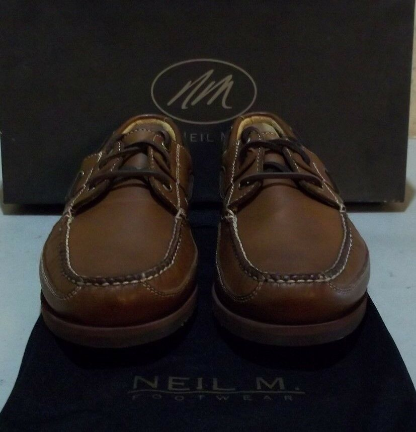 New Neil M. Bridgeport 9.5 B tan (5712)