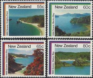 New-Zealand-1986-COASTAL-SCENERY-4-MNH-SG-1395-8