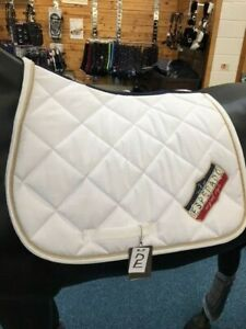 Esperado-White-Saddle-Pad-Size-Full
