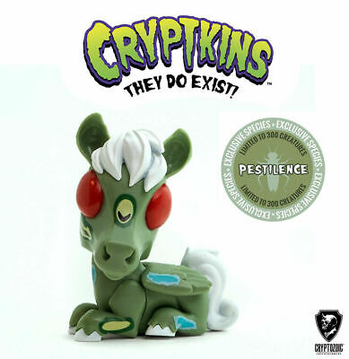 Cryptozoic Cryptkins Pestilence WonderCon Exclusive NEW In Hand LE 300