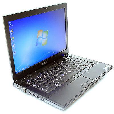Cheap Laptop Windows 7 Dell E6400 Intel 2.4Ghz 2GB 160GB DVD Win Widescreen
