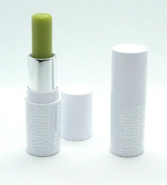 Lot of 2 Milk Makeup KUSH Lip Balm in Green Dragon (clear finish), Travel size
