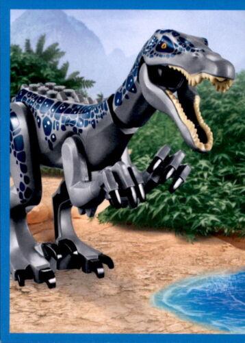 Blue Ocean lego Jurassic World individuales sticker 1-160 para escoger