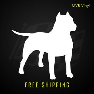 Pit Bull Vinyl Decal StickerDog Breed Love 423