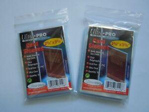 Ultra-Pro-Sleeves-Schutzhuellen-Trading-Cards-Sammelkarten-200-500-1000-NEU-OVP