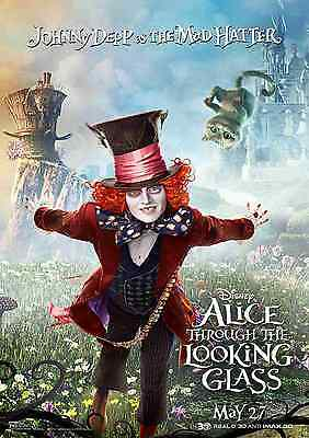 A3 /& A4 Alice Through The Looking Glass  Film Posters Red Queen