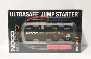 NOCO GB150 3000 Amp 12-Volt Portable Lithium Car Battery Jump Starter Brand New