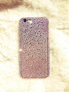 info for ed54b f383a Details about Custom iPhone 8, Plus, iPhone X, Genuine Swarovski Crystals  Case Cover