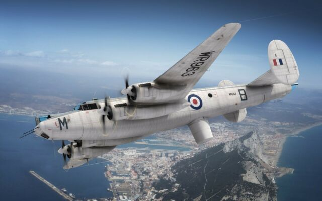 Avion de patrouille Britannique AVRO SHACKLETON MR.2 - Kit AIRFIX 1/72 n° 11004