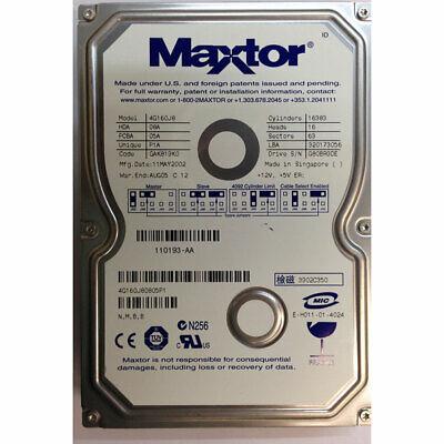 *TESTED* 4R160L0 MAXTOR 160GB 5400RPM IDE HARDDRIVE