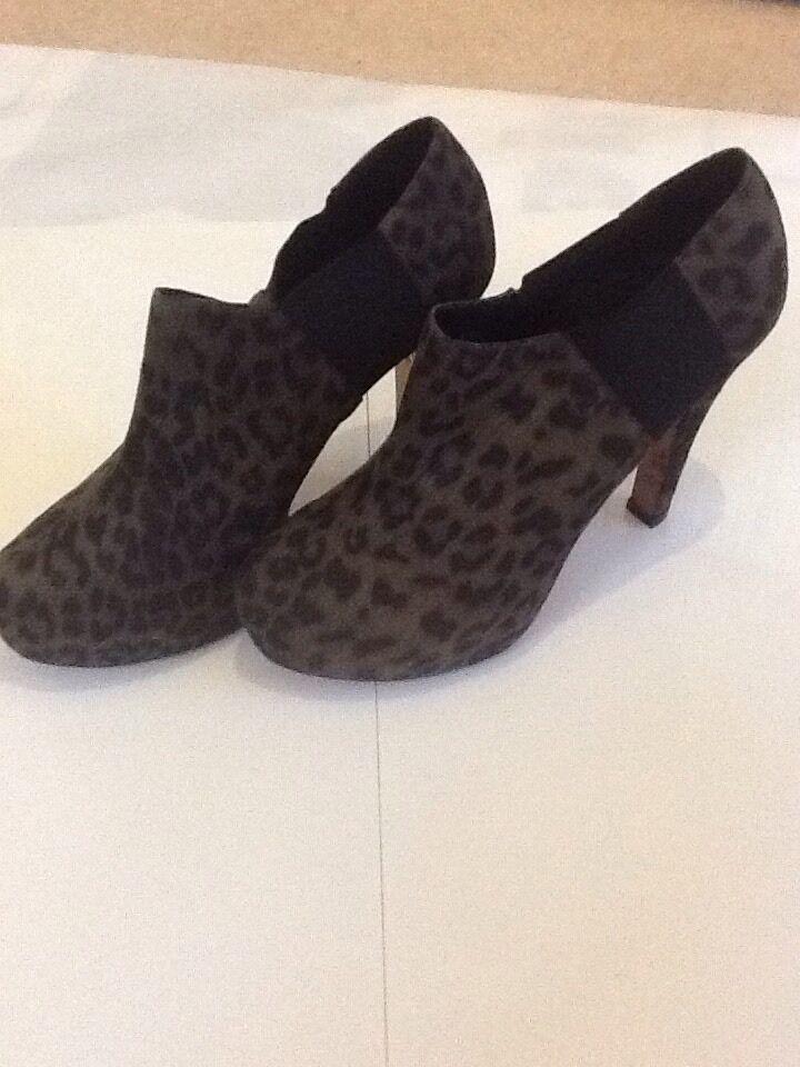 Ruby rocks new boxed démarrage heel Taille 9 42 Leopard Print