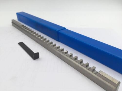 "3//16/"" Keyway Broach B Push Type 3//16 Inch HSS Shim Cutting Tool CNC"