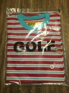 813a94f80 golf wang stripped t shirt Size L odd future tyler the creator camp ...