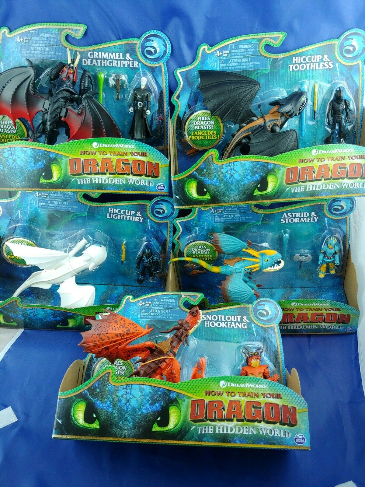 How to Train Your Dragon 3 The Hidden World Light Fury Complete lot