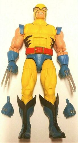 Marvel Legends WOLVERINE Loose Complete 80th Anniversary 2 Pack No Hulk IN HAND!