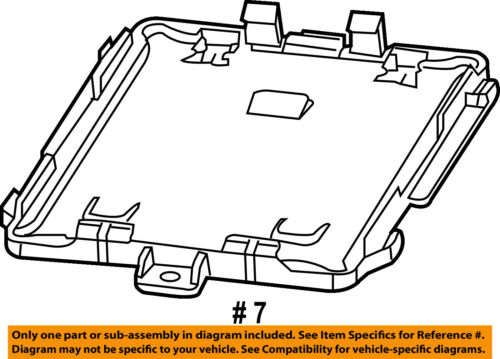 GM OEM Ignition-Retainer Plate 20853316