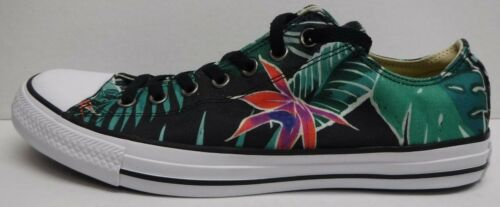Converse Size 10 Black Floral Sneakers New Mens Shoes