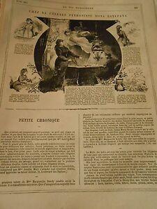 1878 Chez La Célèbre Pythonisme Dona Estefana Parfait Dans L'ExéCution