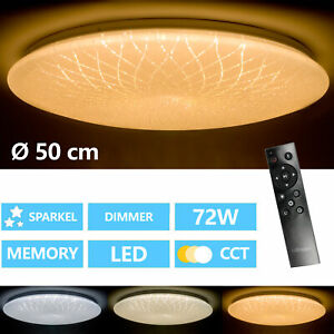 LED-Decken-Lampe-Sternen-Himmel-CCT-Fernbedienung-Kinder-Zimmer-Leuchte-dimmbar