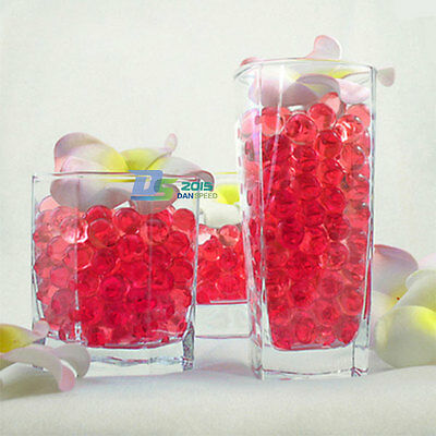 10 Bags Magic Water Crystal Soil Plant Wedding Mud Pearls Bead Balls Decoration