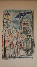 Ponchon Raoul  LA MUSE GAILLARDE illustré par Dignimont