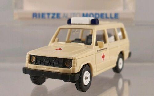 "Rietze 50186 Mitsubishi Pajero /""DRK Kreisverband Bergstrasse/"" 1:87 H0"