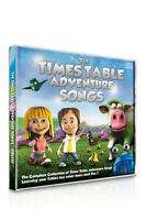 Times Table Adventure CD - Learn the Songs for the DVD Collections!