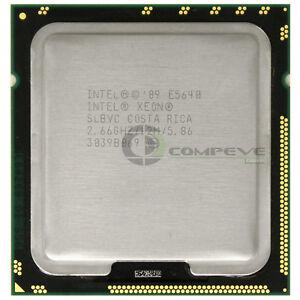 Intel Xeon E5640 2.66GHz 12MB 5.86GT//s SLBVC CPU LGA1366 Server Processor
