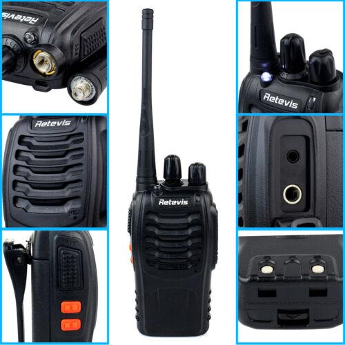Retevis H777 Walkie Talkie 5W 16CH UHF400-470MHz CTCSS/DCS VOX Two Way Radio US