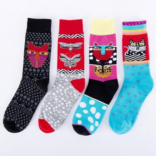 2019 Casual Cotton Design Multi-Color Fashion Men's Women's Socks Gifts