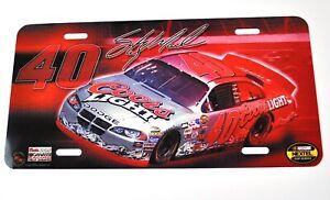 Dodge NASCAR 40 USA Nummernschild License Plate Deko Blech Schild Blechschild