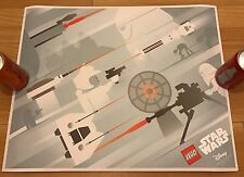 Lego Star Wars Poster - The Battle of Hoth VIP