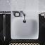 miniatura 3 - Unterfahrbare Waschtisch für barrierefreies Bad 65 x 55 cm groß mit Überlauf