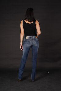 PEPE-JEANS-Chimed-wmn-Hose-Regular-Fit-Straight-Leg-Stretch-Blau-alle-Groessen-NEU