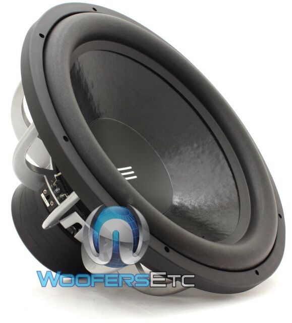 "RE AUDIO SX18D2 18"" WOOFER 1000W RMS DUAL 2-OHM CAR SUBWOOFER BASS SPEAKER NEW"