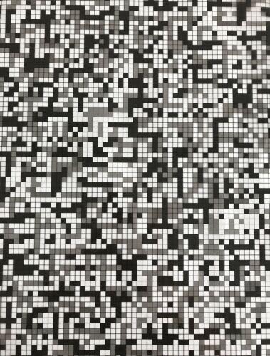 Transferts d/'eau pression Film RDTI Hydrographic Pixel 1 m x 50 cm largeur