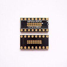 5 PCS QFN28 PCB Board Converter Pin Pitch 0.4 0.5mm QFN to DIP 2.54 Adapter B58