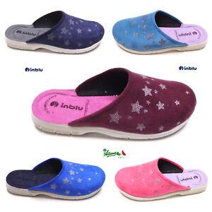 OFFERTA-INBLU-ciabatte-pantofole-donna-comode-calde-basse-invernali-STELLINA
