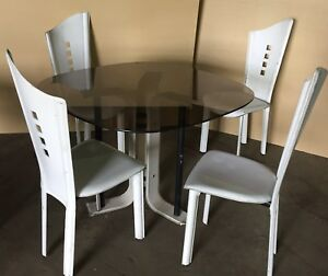 Enjoyable Details About Vintage Modern 1970S 1960S Kitchen Dining Table 4 Chairs Great Tv Film Prop Cjindustries Chair Design For Home Cjindustriesco