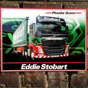 Eddie Stobart Trio metal sign 410mm x 300mm rh