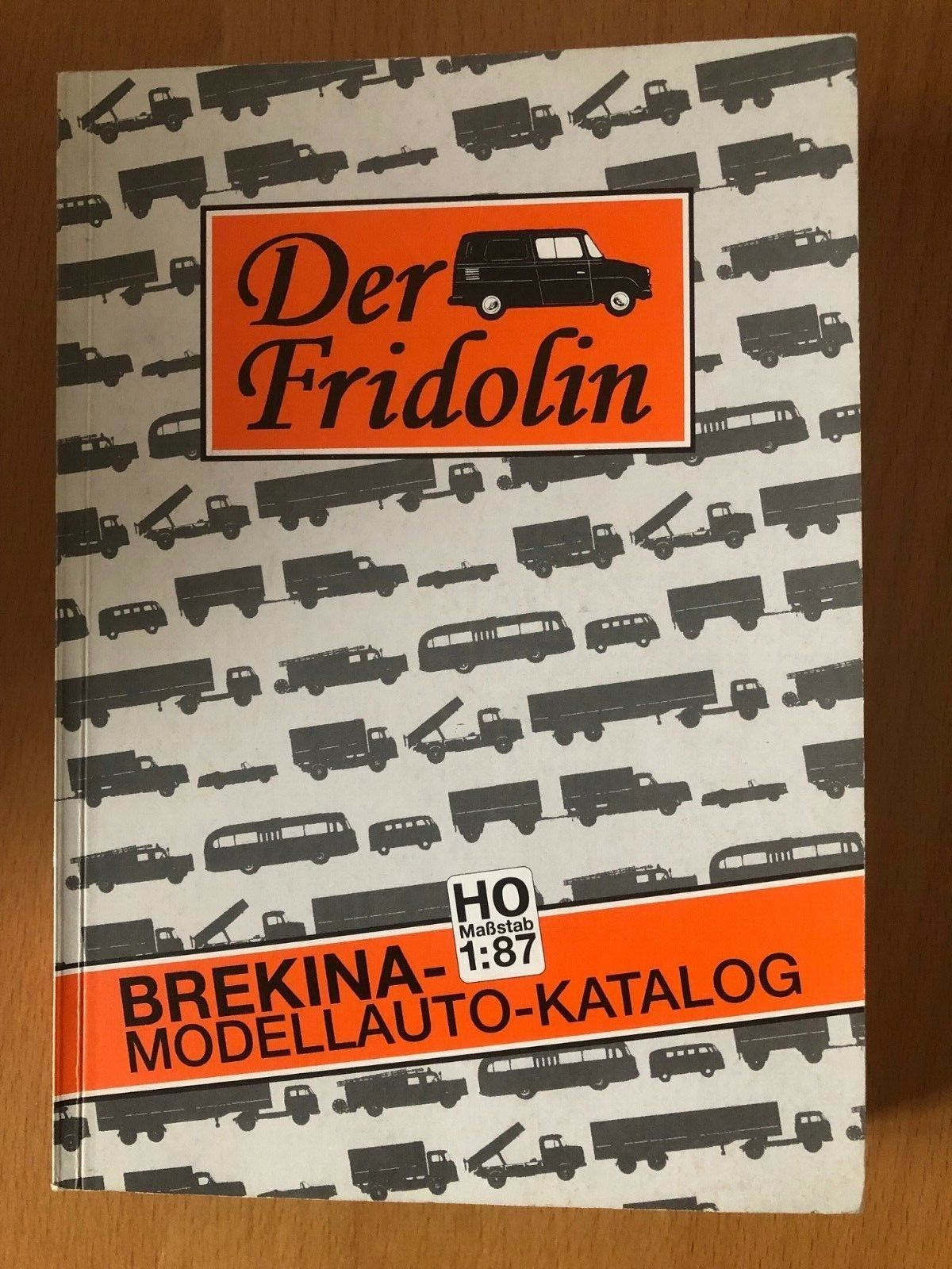 Der Fridolin - Brekina Modellauto Katalog - Tugemann - 1. Auflage 1998 - RARITÄT
