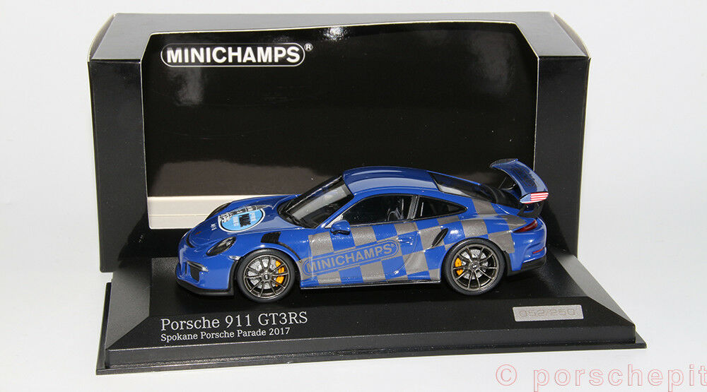 Porsche 911 991 gt3rs spokane porsche 2017 1 43 selten ( 5.