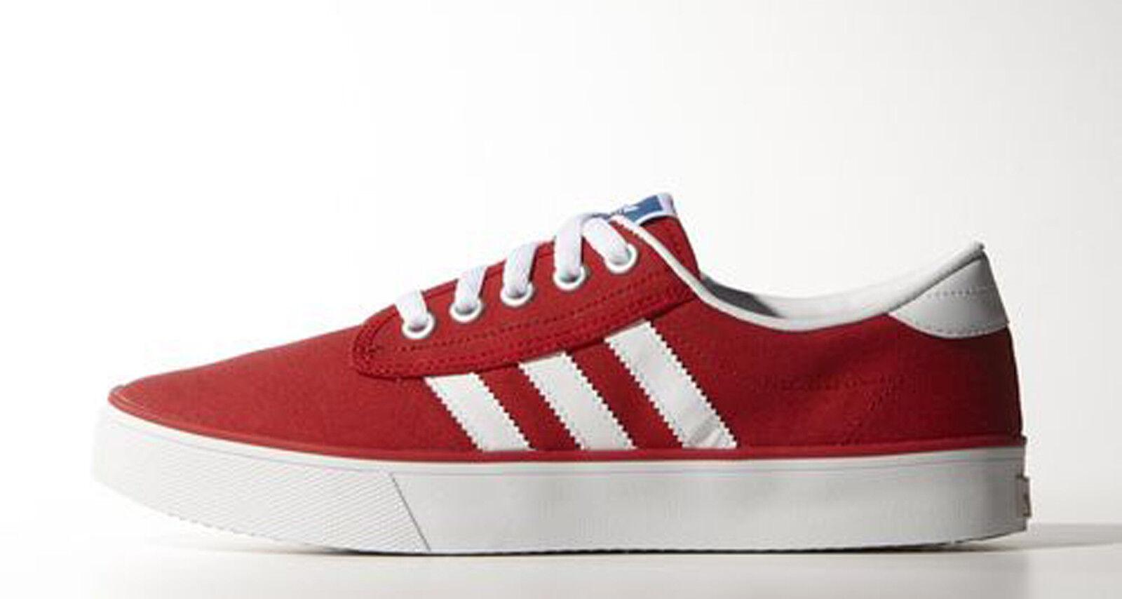Adidas KIEL Unisex Rossa - M20323 scarpe tela NEW