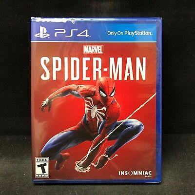 Marvel's Spider-Man (Sony PlayStation 4 PS4) BRAND NEW / Region Free