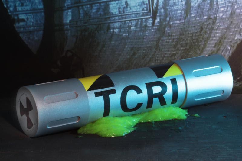 Teenage Mutant Ninja Turtle NECA 1 1 Scale Prop Replica Ooze Canister TCRI TGRI