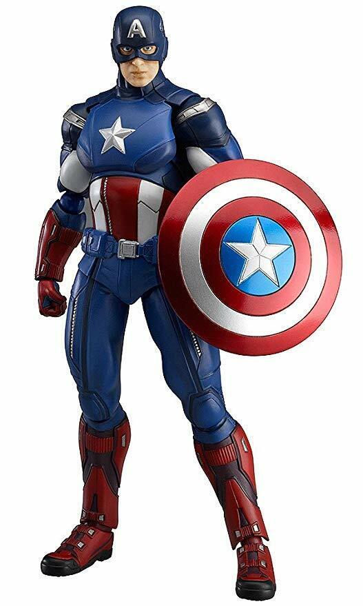 Figma  Avengers Endgame Captain America The Avengers  bon shopping