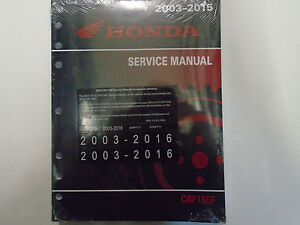 2003 2004 2005 2006 2007 2008 honda crf150f crf 150 service repair rh ebay com sony crf-150 service manual 2004 honda crf150f owners manual